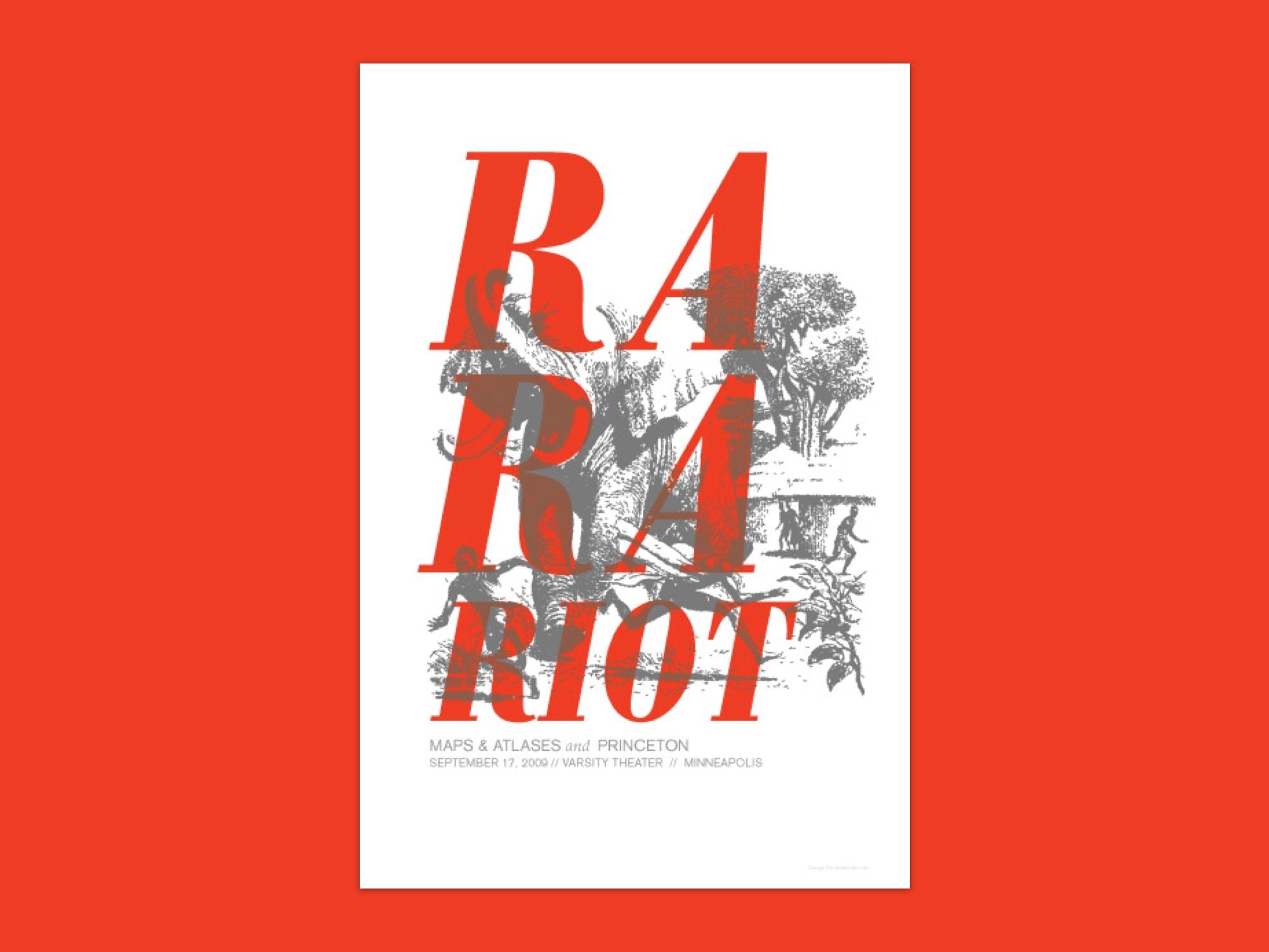 RaRa Riot Poster 2000×1500